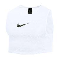 Chasuble d'entrainement Nike Training BIB Blanc Noir CW3845-100