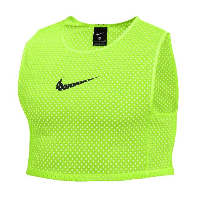 Chasuble d'entrainement Nike Training BIB Jaune fluo Noir CW3845-702
