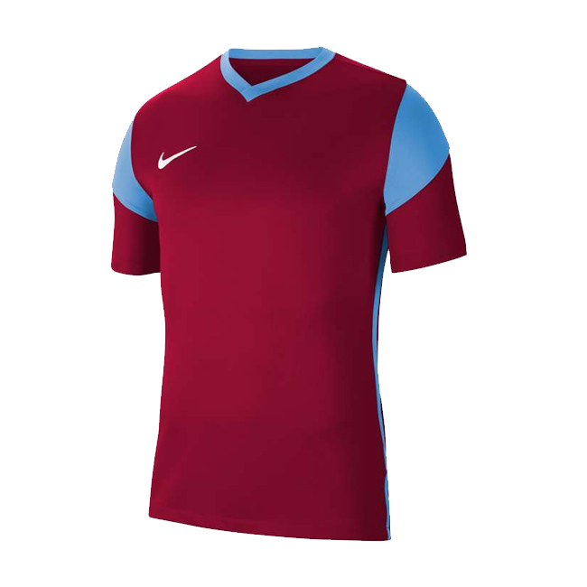 Maillot Nike Park Derby III Bordeaux Bleu ciel CW3826-677