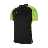 Maillot Nike Strike II Noir Jaune fluo CW3544-011