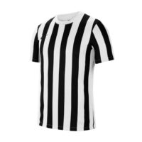 Maillot Nike Striped Division IV Blanc Noir CW3813-100
