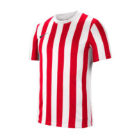 Maillot Nike Striped Division IV Blanc Rouge CW3813-104