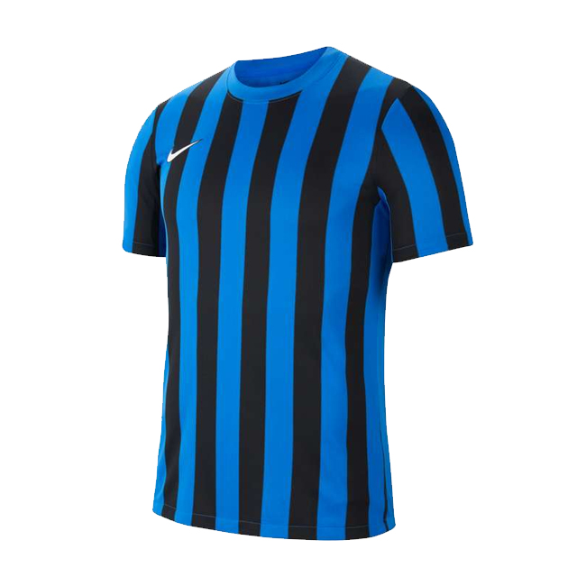 Maillot Nike Striped Division IV Bleu roi Noir CW3813-463
