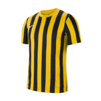 Maillot Nike Striped Division IV Jaune Noir CW3813-719