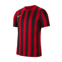 Maillot Nike Striped Division IV Rouge Noir CW3813-658