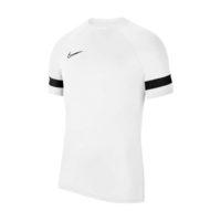 Maillot d'entrainement Nike Academy 21 Blanc Noir CW6101-100