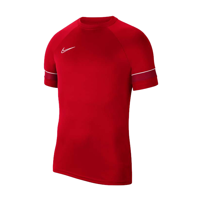 Maillot d'entrainement Nike Academy 21 Rouge Blanc CW6101-657
