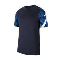 Maillot d'entrainement Nike Strike 21 Bleu marine Blanc CW5843-451