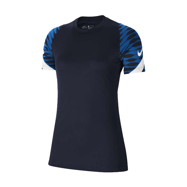 Maillot d'entrainement Nike Strike 21 Femme Bleu marine Blanc CW6091-451