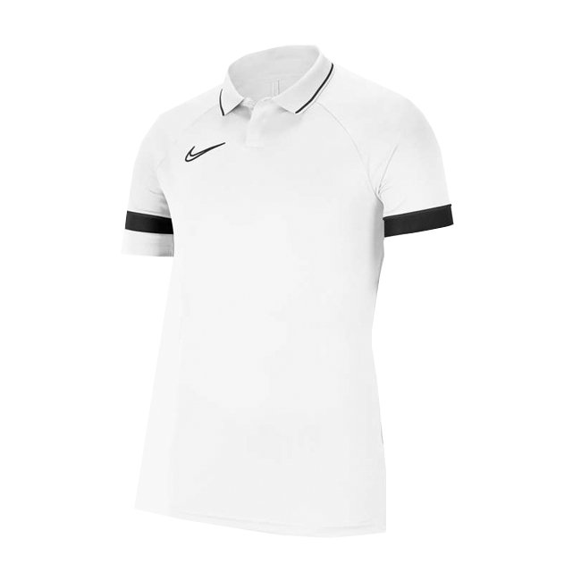 Polo Nike Academy 21 Blanc Noir CW6104-100