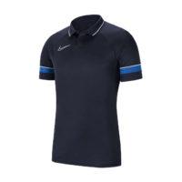 Polo Nike Academy 21 Bleu marine Bleu roi CW6104-453