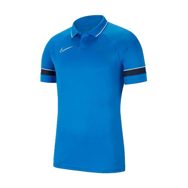Polo Nike Academy 21 Bleu roi Bleu marine CW6104-463