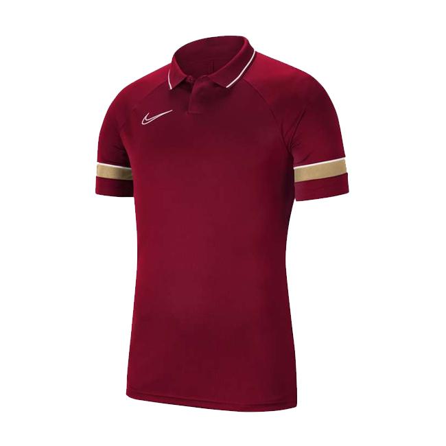 Polo Nike Academy 21 Bordeaux Or CW6104-677