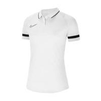 Polo Nike Academy 21 Femme Blanc Noir CV2673-100