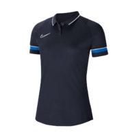 Polo Nike Academy 21 Femme Bleu marine Bleu roi CV2673-453