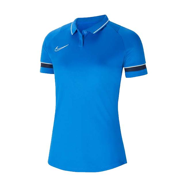 Polo Nike Academy 21 Femme Bleu roi Bleu marine CV2673-463