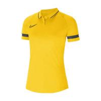 Polo Nike Academy 21 Femme Jaune Noir CV2673-719