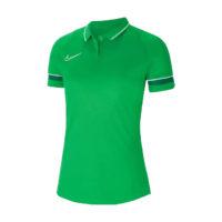 Polo Nike Academy 21 Femme Vert Blanc CV2673-362