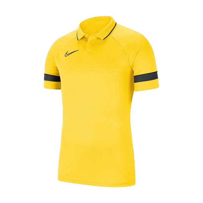 Polo Nike Academy 21 Jaune Noir CW6104-719