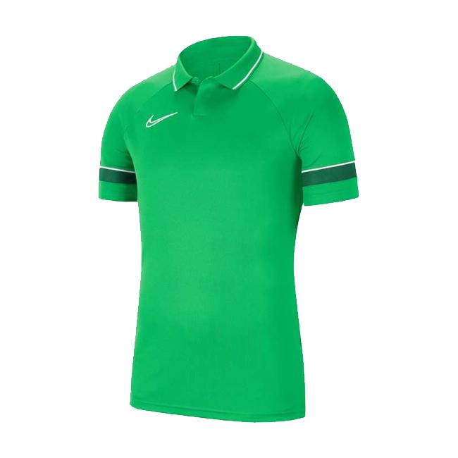 Polo Nike Academy 21 Vert Blanc CW6104-362