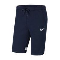 Short Nike Strike 21 Fleece Bleu marine Blanc CW6521-451