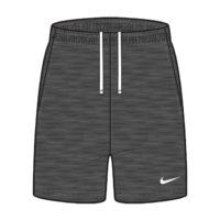 Short Nike Team Club 20 Charcoal Blanc CW6910-071