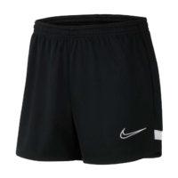 Short d'entrainement Nike Academy 21 Femme Noir Blanc CV2649-010