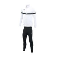 Survetement Knit Nike Academy 21 Blanc Noir CW6113-100 CW6122-010