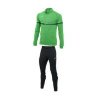 Survetement Knit Nike Academy 21 Vert Noir CW6113-362 CW6122-010