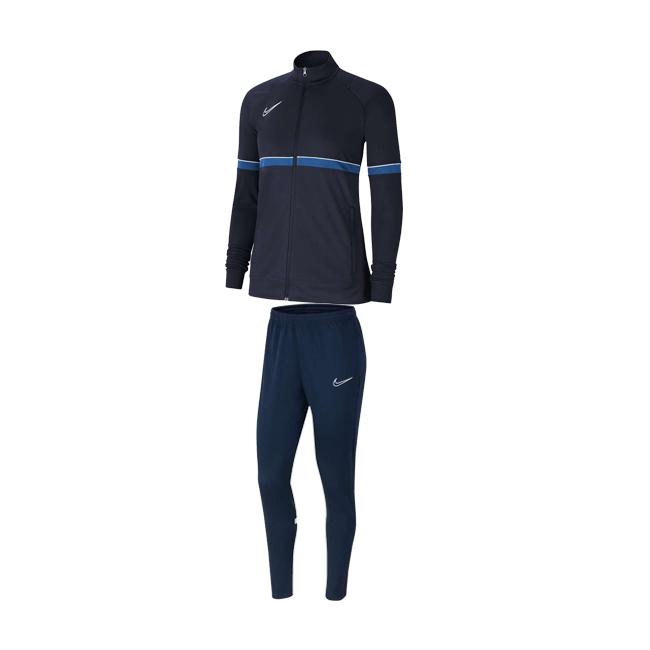 Survetement Nike Academy 21 Femme Bleu marine Bleu roi CV2677-453 CV2665-451