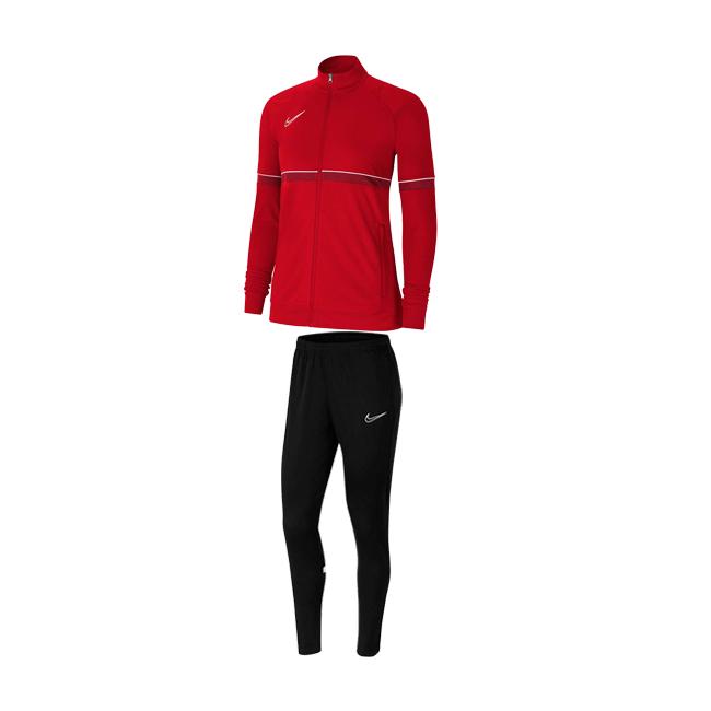 Survetement Nike Academy 21 Femme Rouge Blanc CV2677-657 CV2665-010