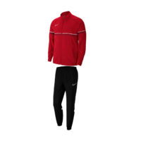 Survetement Woven Nike Academy 21 Rouge Blanc CW6118-657 CW6128-010