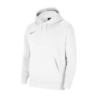 Sweat a capuche Nike Team Club 20 Blanc Noir CW6894-101