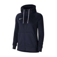 Sweat a capuche Nike Team Club 20 Femme Bleu marine Blanc CW6955-451