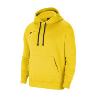 Sweat a capuche Nike Team Club 20 Jaune Noir CW6894-719