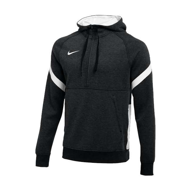 Sweat a capuche demi zip Nike Strike 21 Fleece Noir Blanc CW6311-010