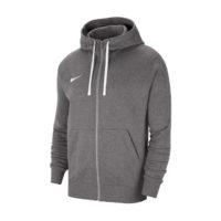 veste a capuche full zip Nike Team Club 20 Charcoal Blanc CW6887-071