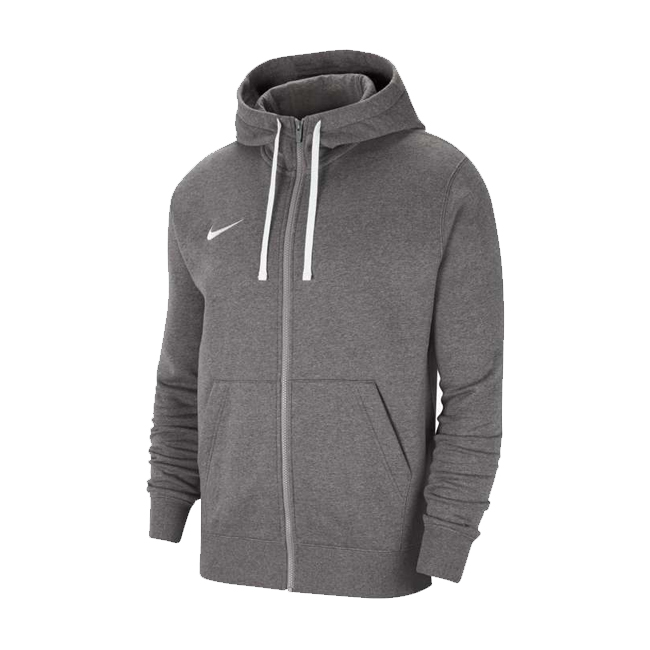 veste a capuche full zip Nike Team Club 20 Charcoal Blanc CW6887-071
