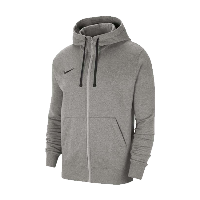 veste a capuche full zip Nike Team Club 20 Gris Noir CW6887-063