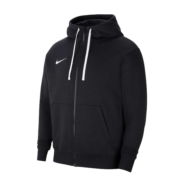 veste a capuche full zip Nike Team Club 20 Noir Blanc CW6887-010