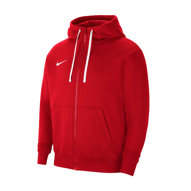 veste a capuche full zip Nike Team Club 20 Rouge Blanc CW6887-657