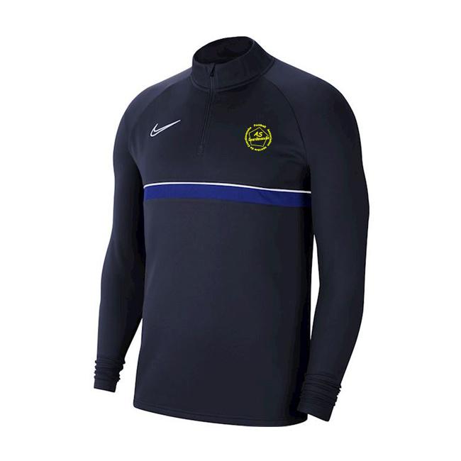 Sweat demi zip AS Courdimanche CW6110-453 CW6112 Nike