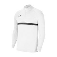 Sweat d'entrainement Nike Academy 21 Blanc Noir CW6110-100