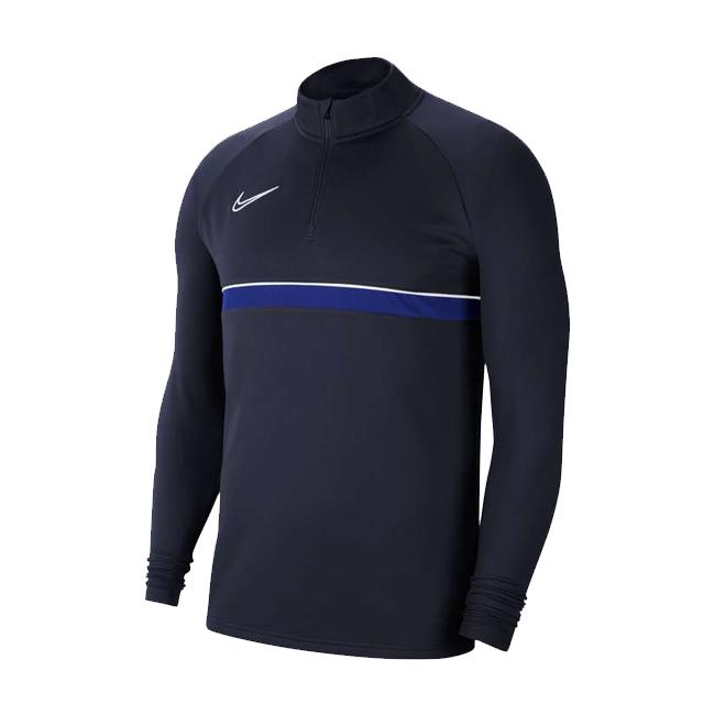 Sweat d'entrainement Nike Academy 21 Bleu marine Bleu roi CW6110-453