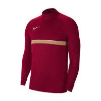 Sweat d'entrainement Nike Academy 21 Bordeaux Or CW6110-677