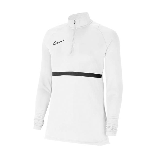Sweat d'entrainement Nike Academy 21 Femme Blanc Noir CV2653-100