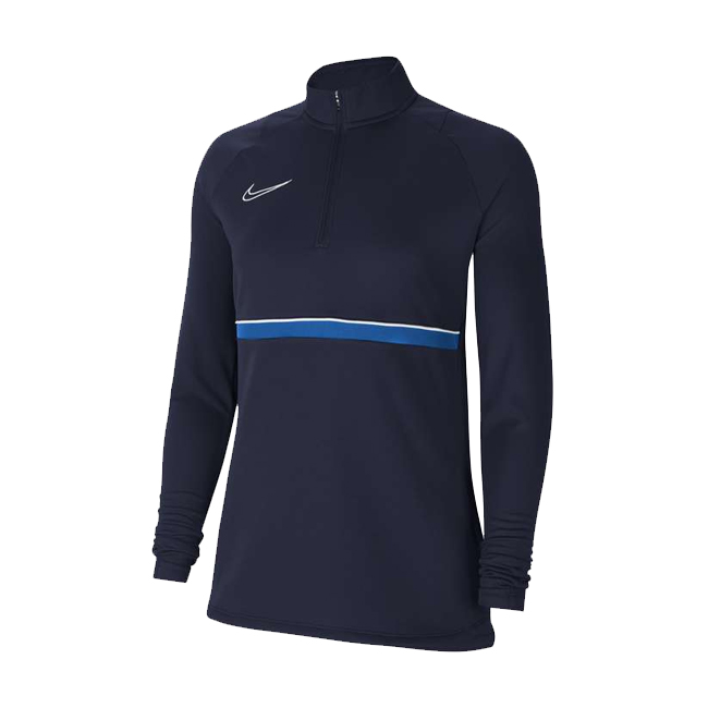 Sweat d'entrainement Nike Academy 21 Femme Bleu marine Bleu roi CV2653-453