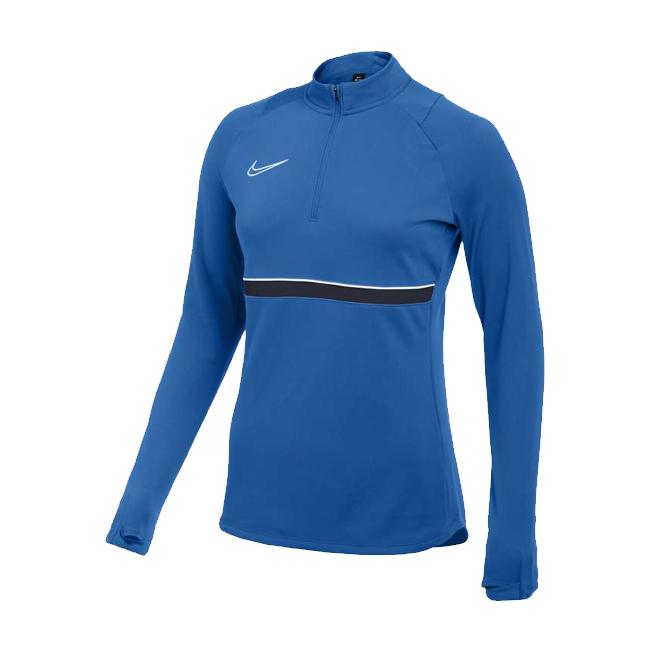 Sweat d'entrainement Nike Academy 21 Femme Bleu roi Bleu marine CV2653-463