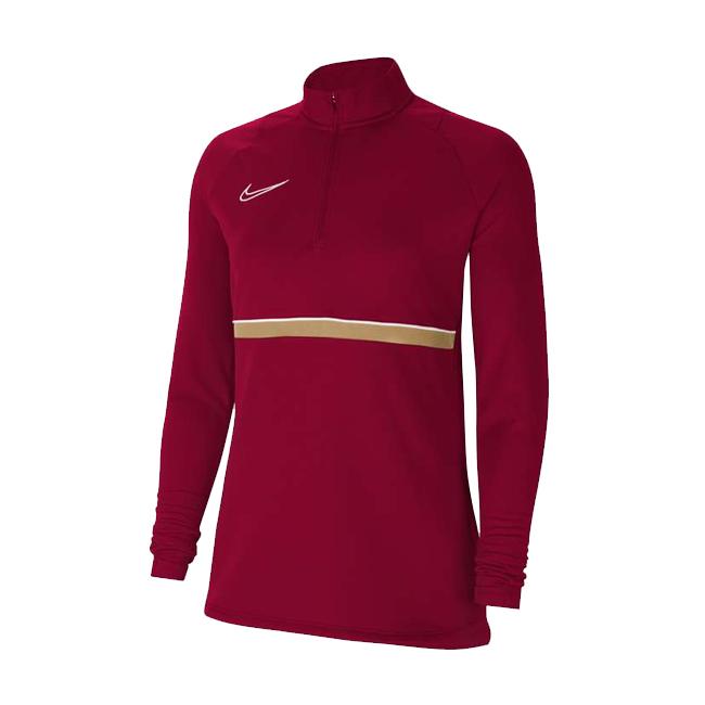 Sweat d'entrainement Nike Academy 21 Femme Bordeaux Or CV2653-677