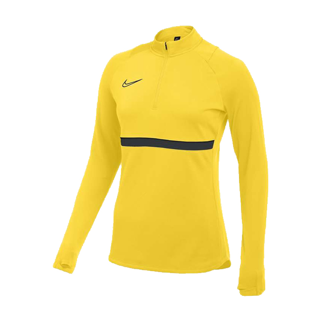Sweat d'entrainement Nike Academy 21 Femme Jaune Noir CV2653-719